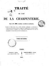 Traite de l'art de la charpenterie: 2, Volume2