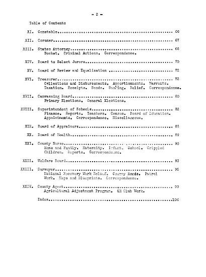 Inventory of the County Archives of North Dakota  William County  Williston   No more published PDF