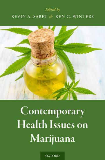 Contemporary Health Issues on Marijuana PDF
