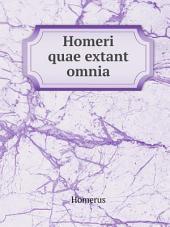 Homeri quae extant omnia