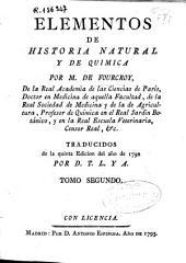 Elementos de historia natural y de química