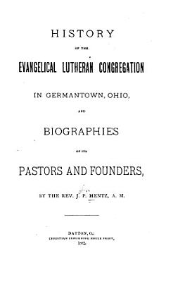 History of the Evangelical Lutheran Congregation in Germantown  Ohio PDF