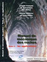 Manuel de m  canique des roches PDF