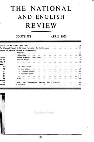 The National and English Review PDF