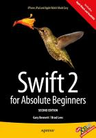 Swift 2 for Absolute Beginners PDF
