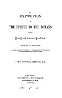 An exposition of the Epistle to the Romans on the principles of Scripture parallelism PDF