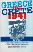 Greece and Crete 1941