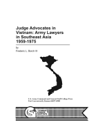 Judge Advocates in Vietnam  Army Lawyers in Southeast Asia  1959 1975 PDF