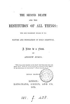 The Second Death and the Restitution of All Things