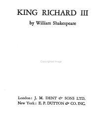 The New Temple Shakespeare  Richard III PDF