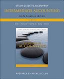 Study Guide to Accompany Intermediate Accounting  Ninth Canadian Edition  Donald E  Kieso