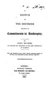 A Sketch of the Doctrine Relative to Commitments in Bankruptcy