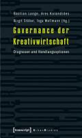 Governance der Kreativwirtschaft PDF