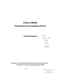 Liberia 1980 85 PDF