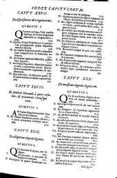 De electione canonica tractatus Fr. Petri Mariae Passerini ...