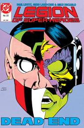 Legion of Super-Heroes (1984-) #22