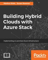 Building Hybrid Clouds with Azure Stack PDF