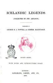 Icelandic Legends Collected by Jón Árnason