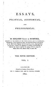 Essays, political, economical, and philosophical