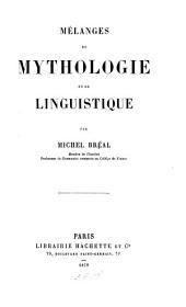 Mélanges de mythologie et de linguistique