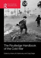 The Routledge Handbook of the Cold War PDF