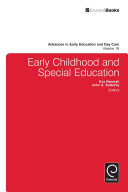 Early Childhood and Special Education