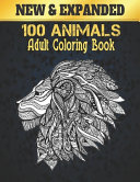 Adult Coloring Book 100 Animals New PDF