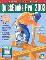 Contractor s Guide to QuickBooks Pro 2003 PDF