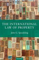 The International Law of Property PDF