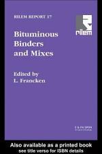 Bituminous Binders and Mixes