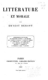 Littérature et morale