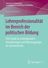 Lehrerprofessionalit  t im Bereich der politischen Bildung PDF