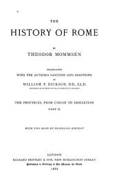 The History of Rome: Volume 2