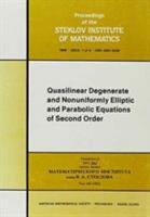 Quasilinear Degenerate and Nonuniformly Elliptic and Parabolic Equations of Second Order PDF
