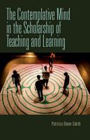 The Contemplative Mind in the Scholarship of Teaching and Learning PDF