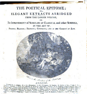 The Poetical Epitome  Or  Elegant Extracts  in Poetry  Abridged from the Larger Volume  of V  Knox   Etc PDF