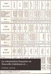 La colonisation française en Nouvelle-Calédonie et dépendances