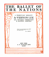 The Ballet of the Nations: A Present-day Morality