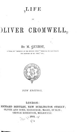 Life of Oliver Cromwell PDF