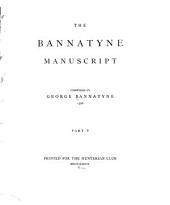 The Bannatyne Manuscript: Part 5