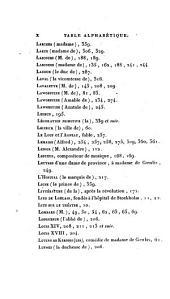 Mémoires inédits de Madame la Comtesse de Genlis sur le dix-huitième siècle et la Révolution française depuis 1756 jusqu'à nos jours, 5-6: Volume2