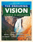 The Enduring Vision  A History of the American People  Volume 1  To 1877 PDF
