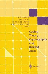Coding Theory, Cryptography and Related Areas: Proceedings of an International Conference on Coding Theory, Cryptography and Related Areas, held in Guanajuato, Mexico, in April 1998