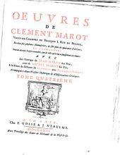 Oeuvres de Clement Marot ...