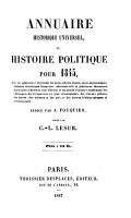 Annuaire historique universel PDF