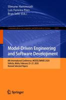 Model Driven Engineering and Software Development PDF