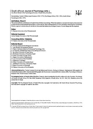 Psychology  Sielkunde PDF