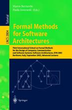 Formal Methods for Software Architectures PDF