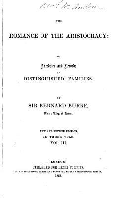 The Romance of the Aristocracy PDF