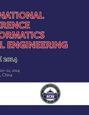 8th International Conference on Bioinformatics and Biomedical Engineering  iCBBE  PDF